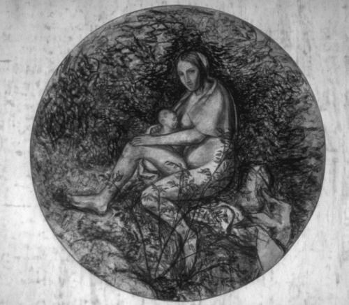 The Tempest (After Giorgione) 1: Woman and Baby