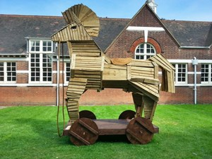 Trojan Horse, by Alistair Lambert