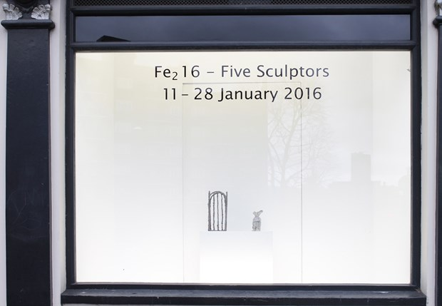 Fe2 16 an exhibition of five sculptors January 11-28, by Victoria Rance