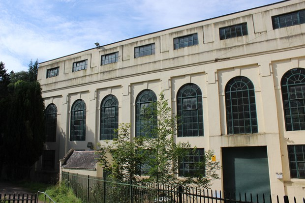 Bonnington Art Deco power station (2016-17).