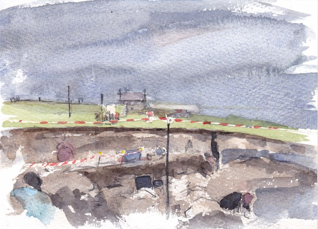 Drawn from Orkney at FaB, by Karen Wallis