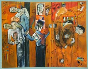 'In Memory of Daniel Pearl', by Ricky Romain