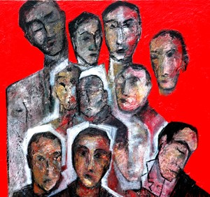 All Heads, by Ricky Romain