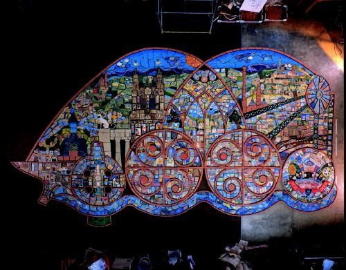 Wrexham Millennium Mural