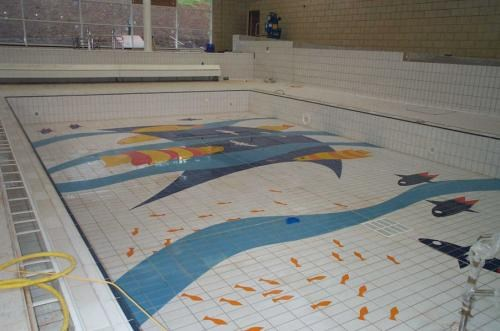 Swimming Pool Floor, Tiverton, Devon