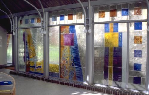 Norwich Art Centre, link windows