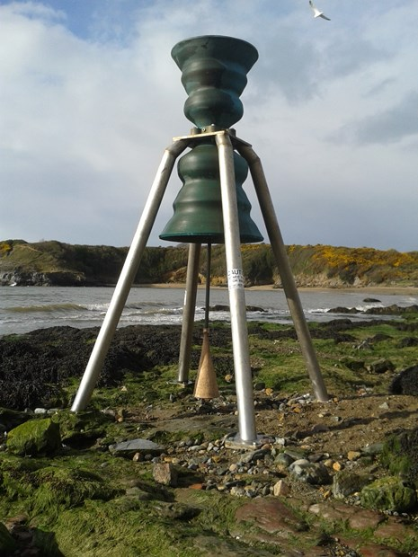 Time and Tide Bell Cemaes Anglsey