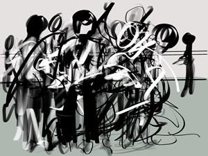 Dance Continuum, by Andrea Kim Valdez