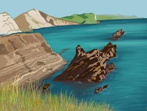 Mupe Rock, by Andrea Kim Valdez