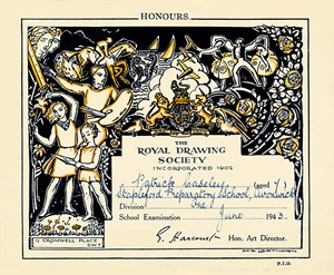 Royal Drawing Society Certificate