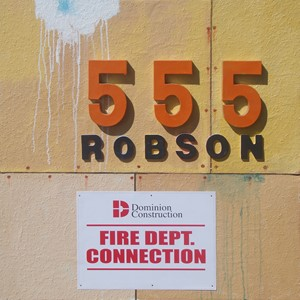 555 Robson, by Patrick Caseley