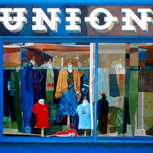 Union Shop - Wexford, by Patrick Caseley