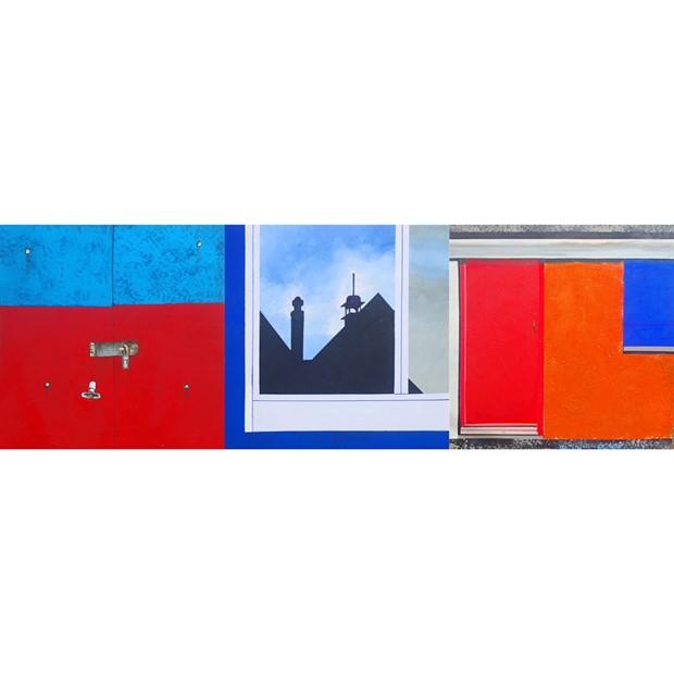 Sheds Triptych