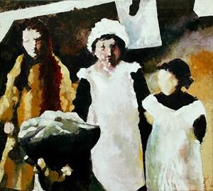 Hallsands Girls, by Patrick Caseley