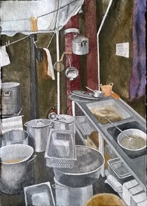 Untitled#CalaisKitchen, by Jenny Mellings