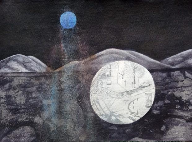 Blue Moonscape 2