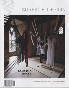Surface Design Journal US edition, by Lucy Brown