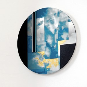 Sky wall piece, by Gill Forsbrook