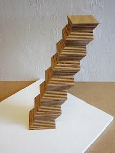Leaning endless column, by Esmond Bingham