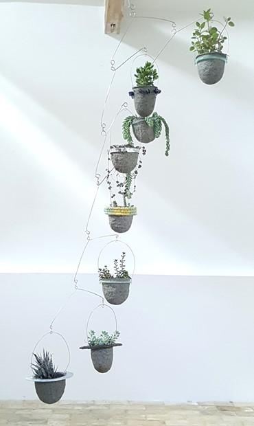 Balanced-Earth Floating Garden - Credit: Karen Whiterod