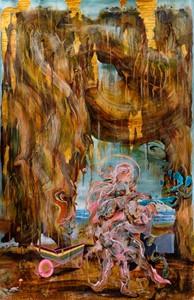 Prophet in the Wilderness (St. John), by Iain Andrews