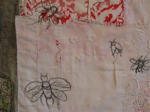 Bee Mapping (sold) - Credit: Cas Holmes