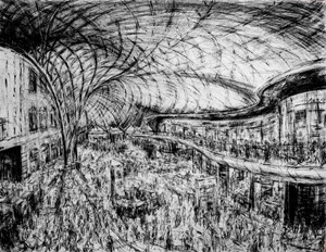 Kings Cross interior, by Jeanette Barnes