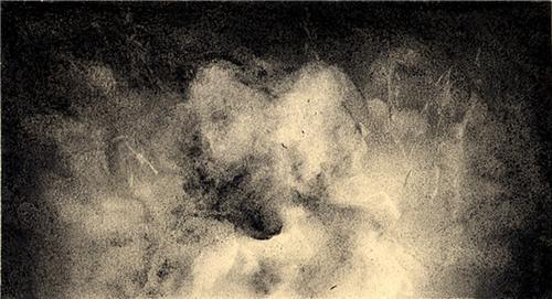 Elephant Man/Cloud Drawing no.6