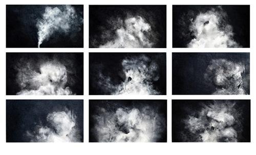 Elephant Man/Cloud Drawings