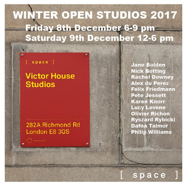 Winter Open Studios, by Jane Bolden