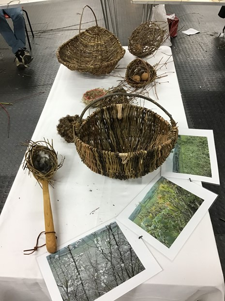 Woodland Foraging and Weaving Workshop, by Danny Manning
