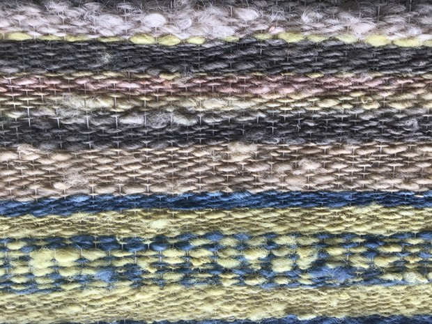 Natural Dye Weaving: A work in Progress