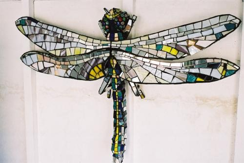 Giant Dragonfly for ITVs 'Art Attack'