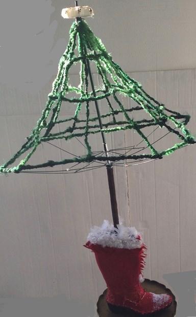 Santas Boot Christmas Tree