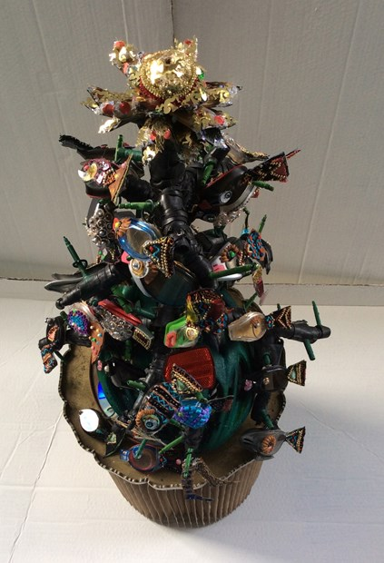 A Christmas  Tree  for triathletes