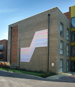 CROYDON BELLWAY HOMES ENAMEL AND SIGNAGE PUBLIC ART COMMISSION, by Tom Pearman