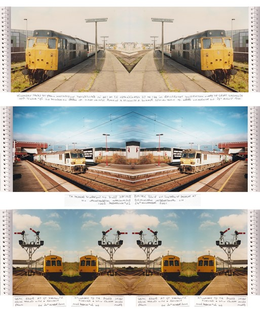 GREAT YARMOUTH TRAIN STATION PUBLIC ART PROJECT - ongoing