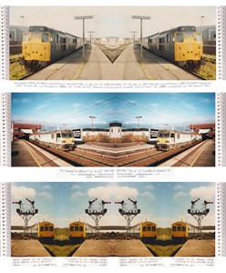 GREAT YARMOUTH TRAIN STATION PUBLIC ART PROJECT - ongoing, by Tom Pearman