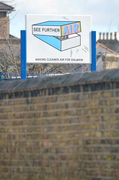 LONDON MAYOR'S AIR QUALITY FUNDED ENAMEL SIGNAGE PUBLIC ART PROJECT