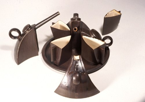 Interlocking tea set