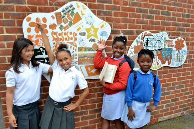 Beatrix Potter School Playground Public Art