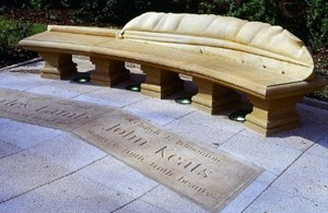 Keats and Lamb bench