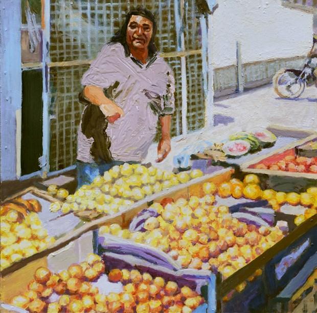 Fruit seller (San Juan, Argentina)