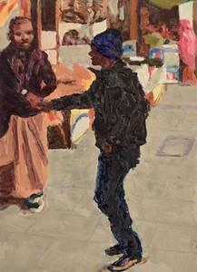 Handshake, by Trevor Burgess