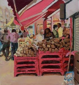 Street Painting (Deptford), by Trevor Burgess