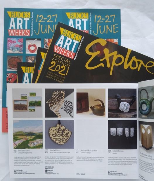 Explore Bucks Art Weeks 12 - 27 June 2021, by Emma J Williams