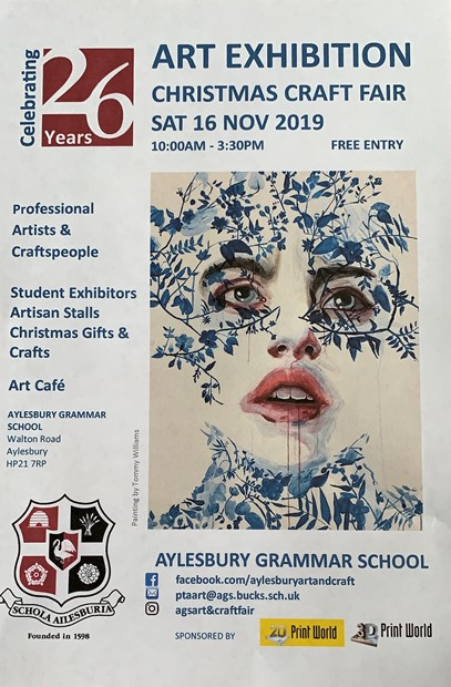 AGS Art Exhibition, by Emma J Williams