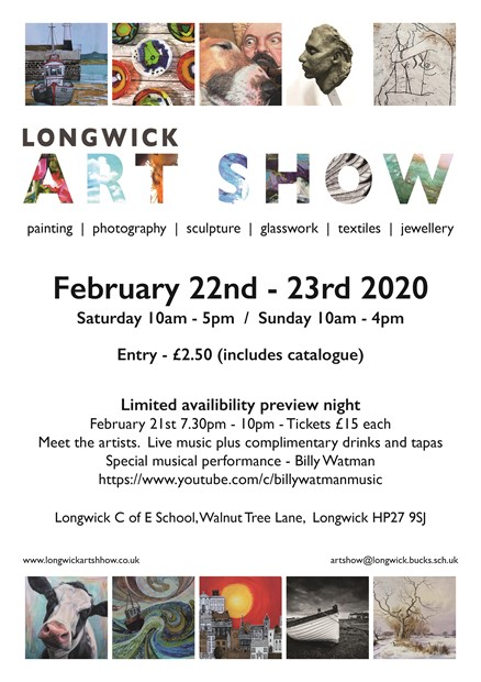 Longwick Art Show, by Emma J Williams