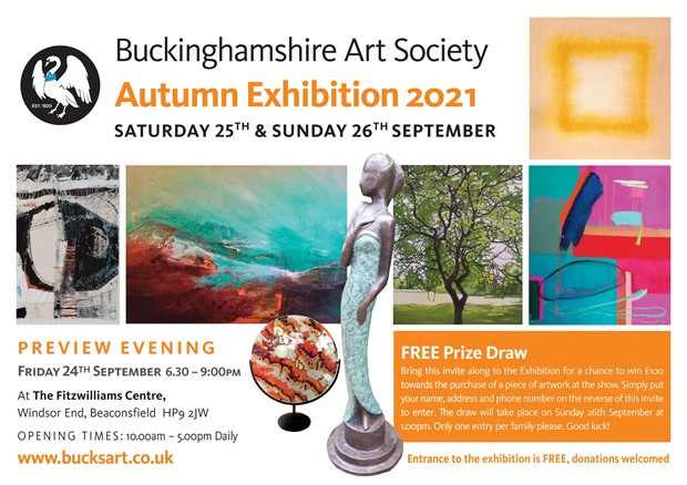 Buckinghamshire Art Society Autumn Exhibition 2021, by Emma J Williams