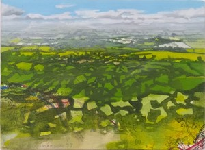 View across the vale, by Emma Williams
